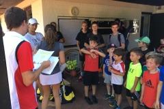 Jugend Tennis Camp 2018